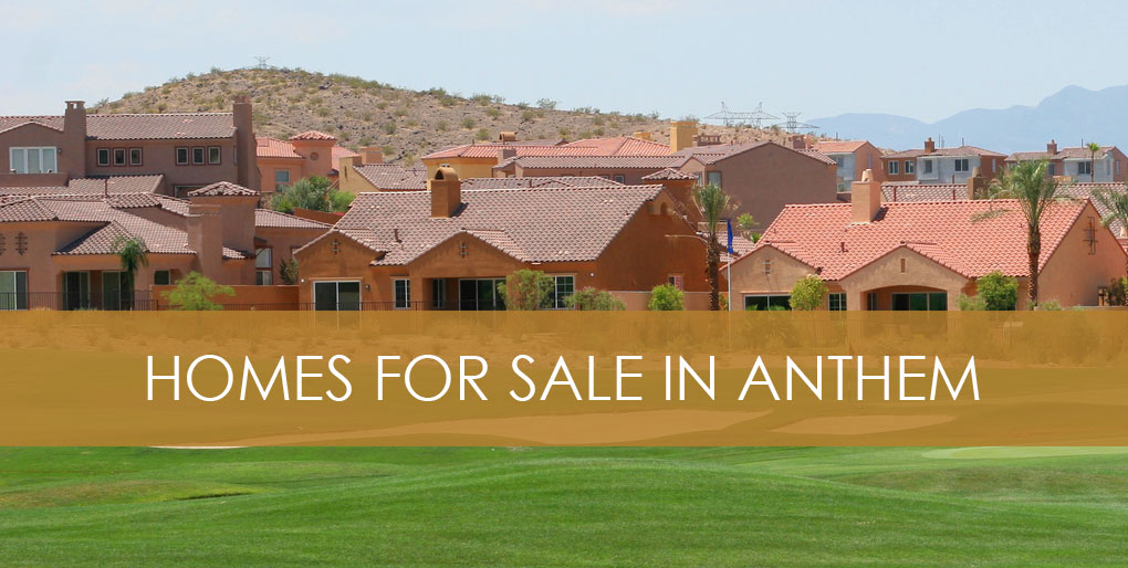 homes for sale in anthem henderson